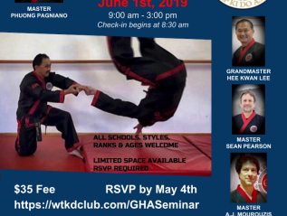 Central Ohio GHA Hapkido Seminar